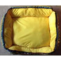 Medium Sized Yellow Dog Bed